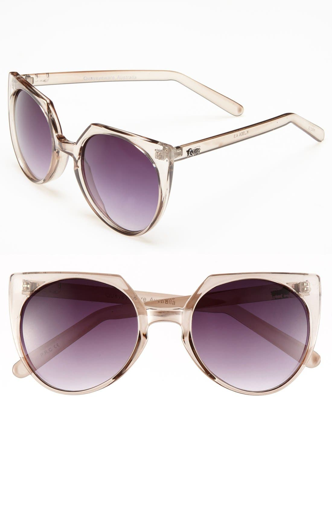 Main Image - Quay Retro Sunglasses
