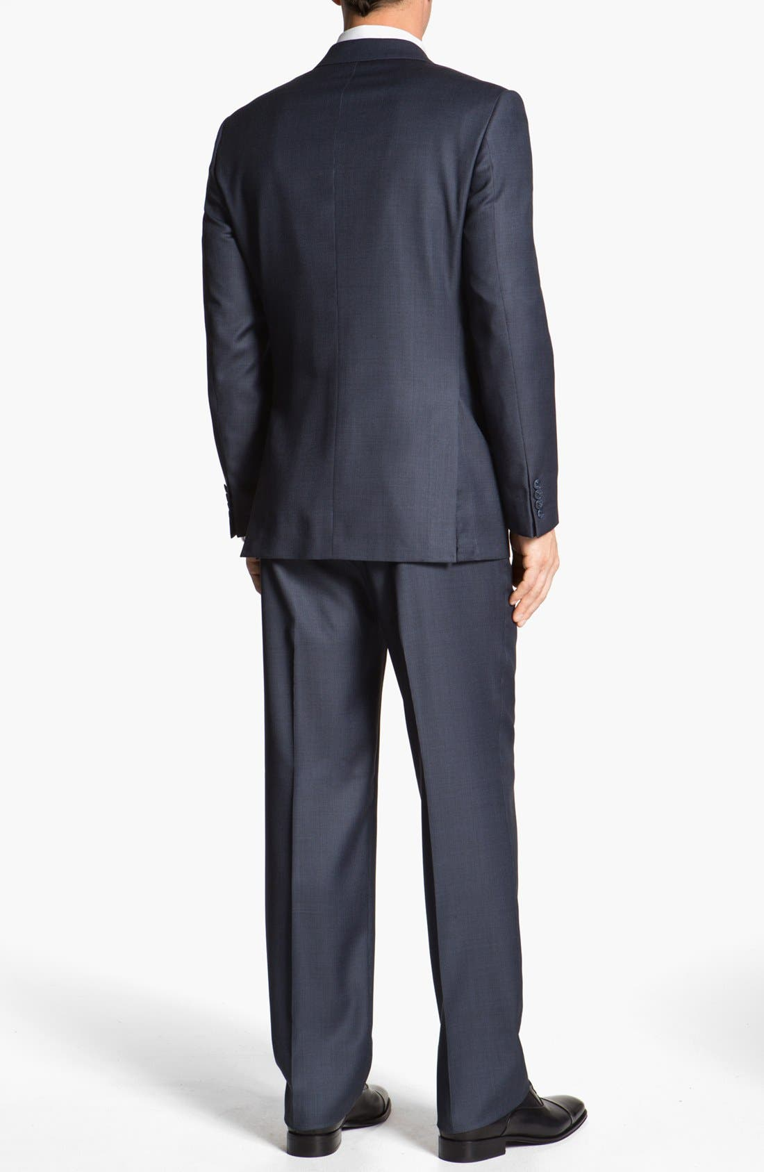 Alternate Image 3  - Joseph Abboud 'Signature Silver' Wool Suit (Online Only)