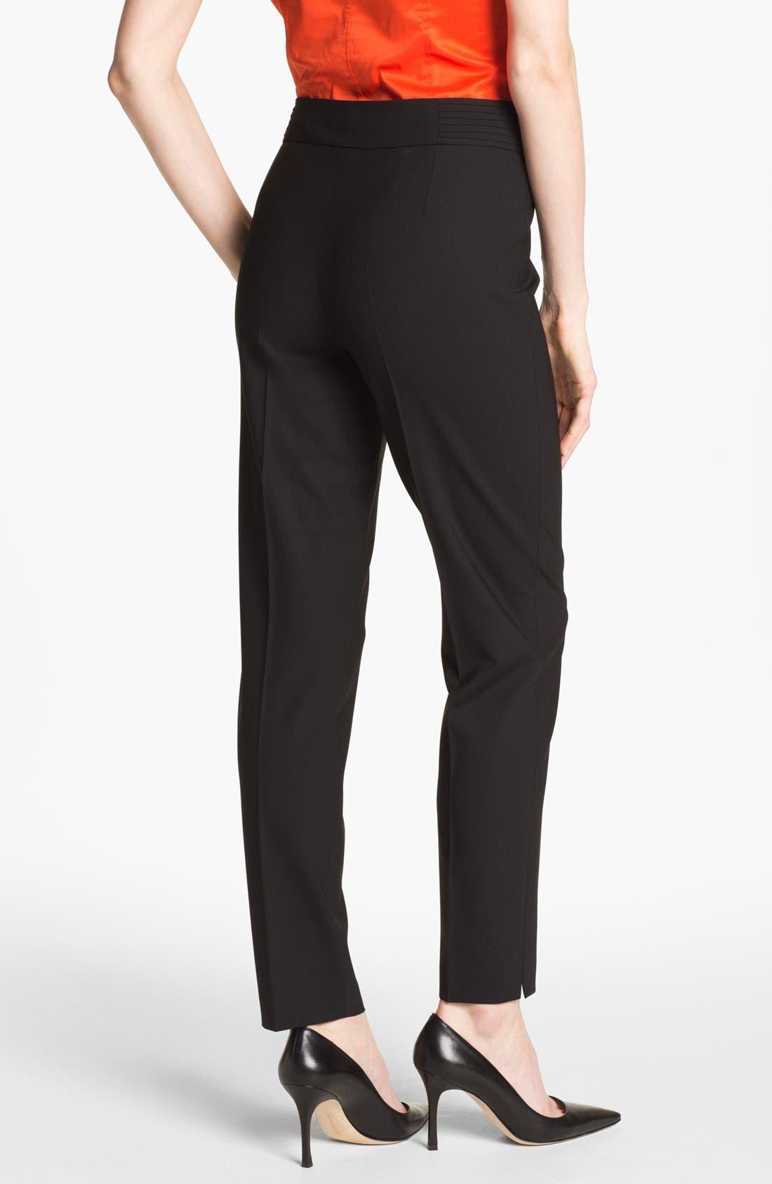 Alternate Image 2  - BOSS 'Tubisa' Stretch Wool Trousers
