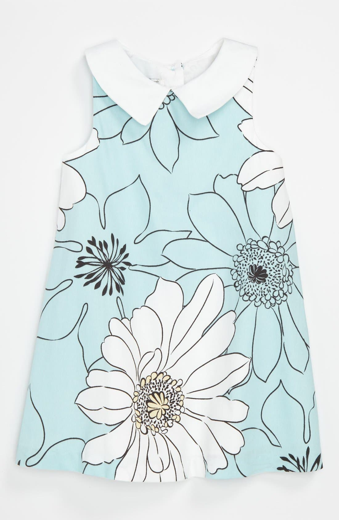 Main Image - Pippa & Julie Floral Dress (Toddler)