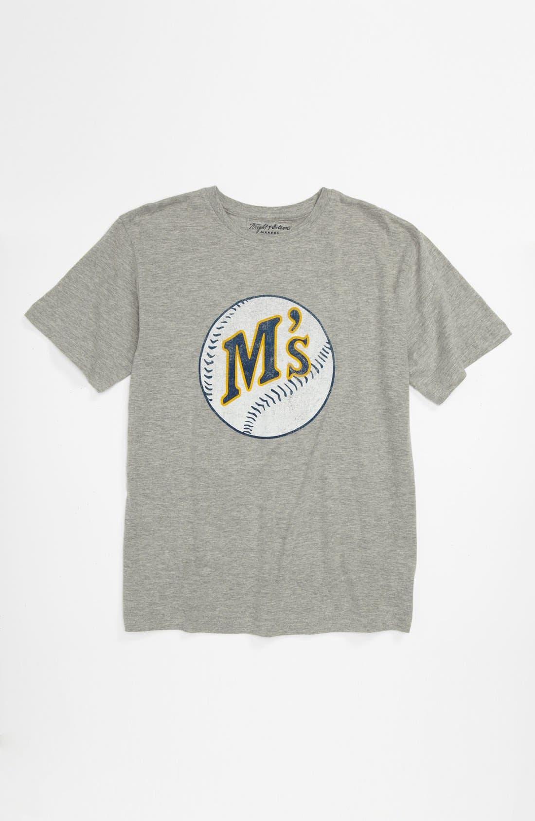 Alternate Image 1 Selected - Wright & Ditson 'Seattle Mariners' T-Shirt (Little Boys & Big Boys)