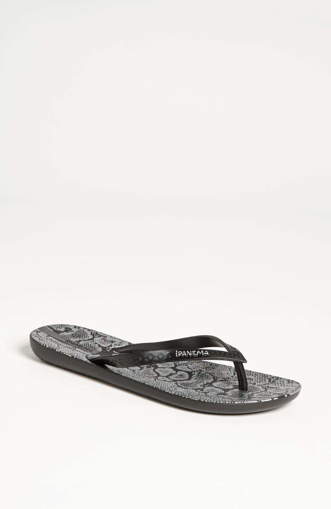 Alternate Image 1 Selected - Ipanema Python Print Flip Flop