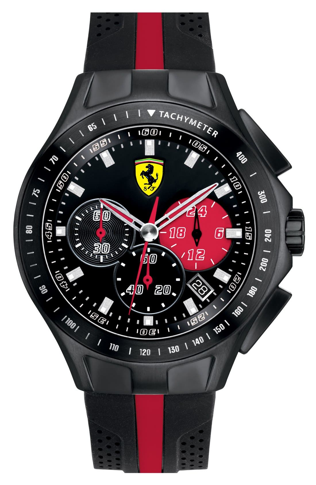 Alternate Image 1 Selected - Scuderia Ferrari 'Race Day' Chronograph Watch, 44mm