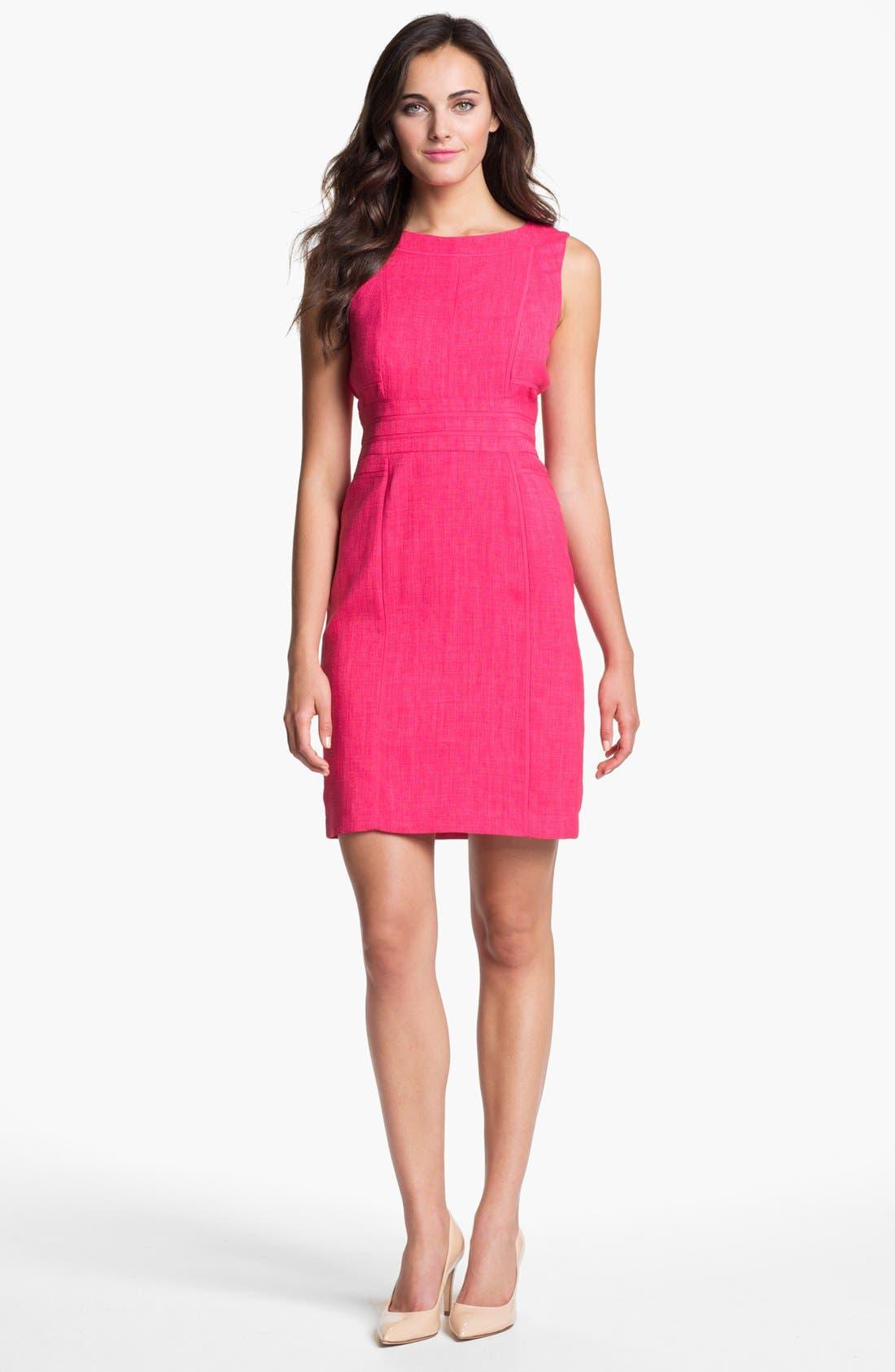 Alternate Image 1  - Ellen Tracy Sleeveless Sheath Dress