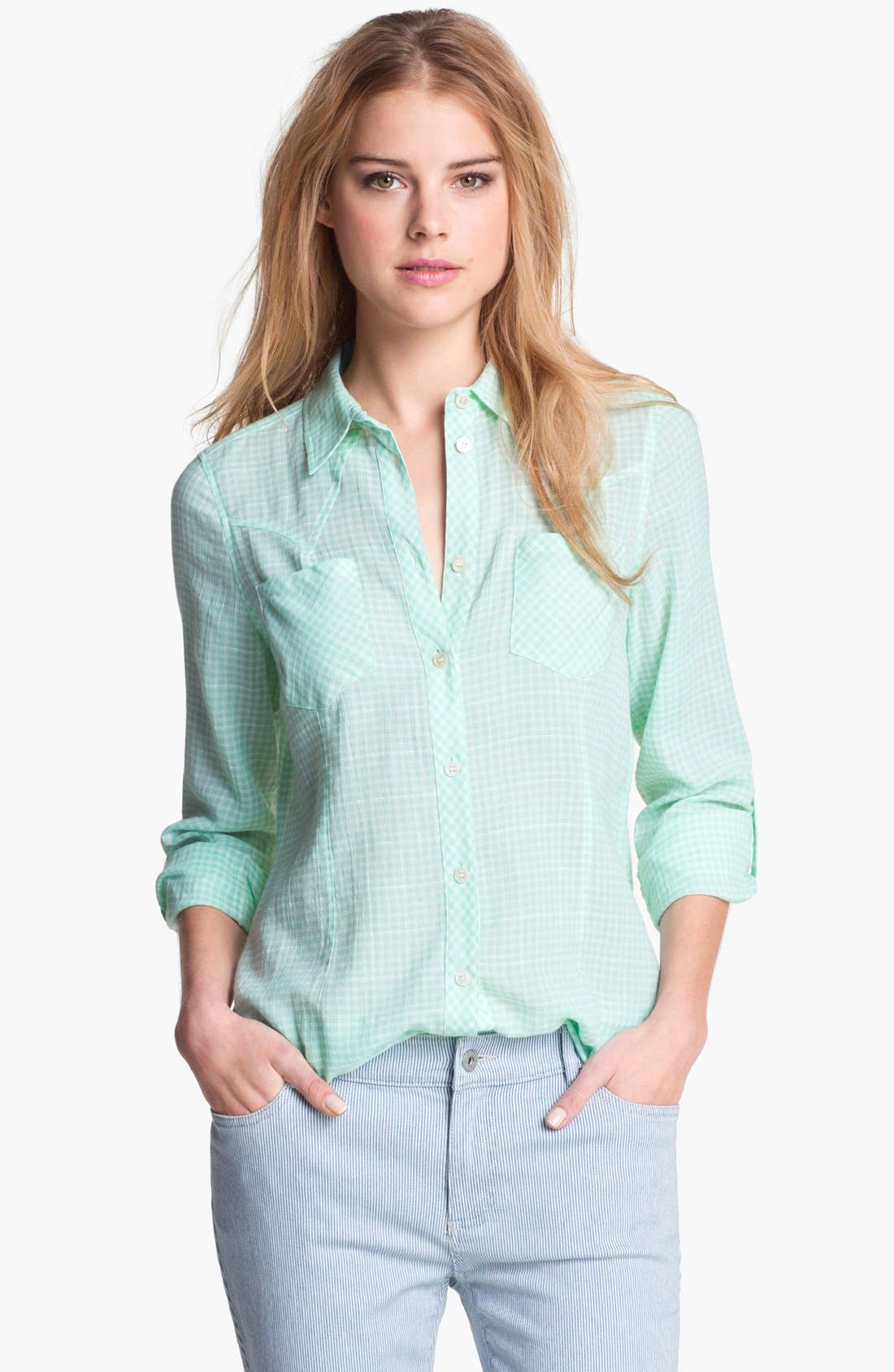 Main Image - Two by Vince Camuto Slim Western Shirt
