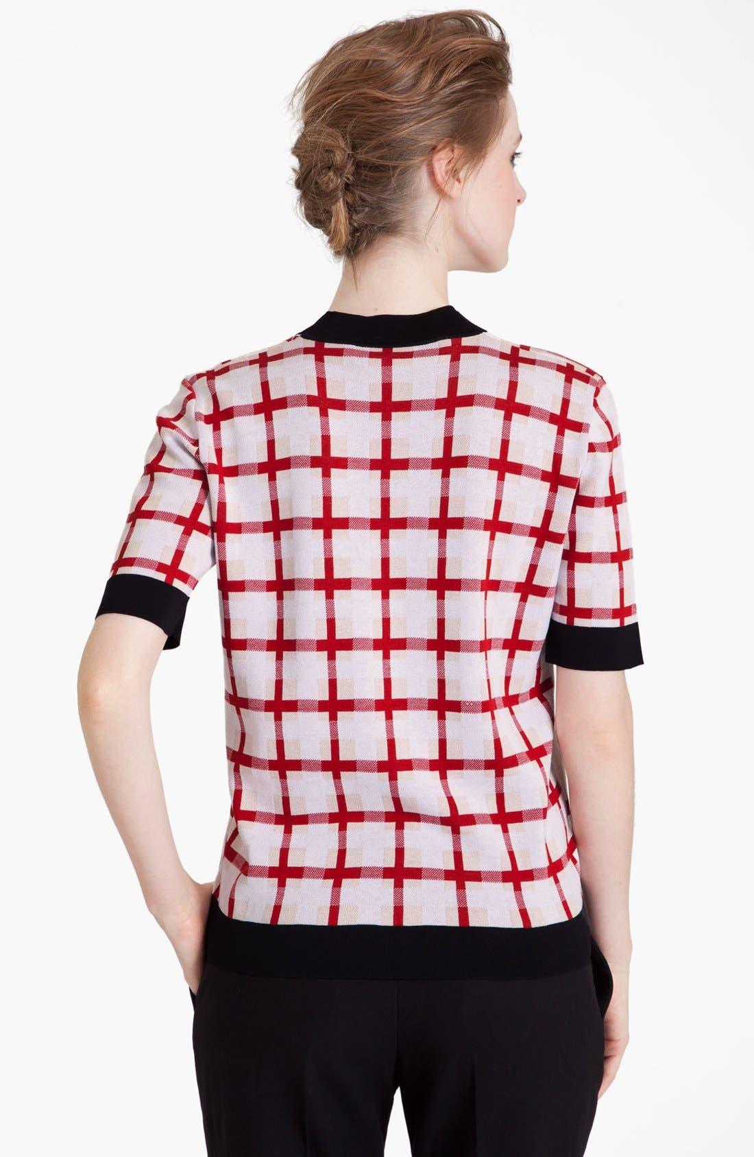 Alternate Image 3  - Marni Grid Pattern Sweater
