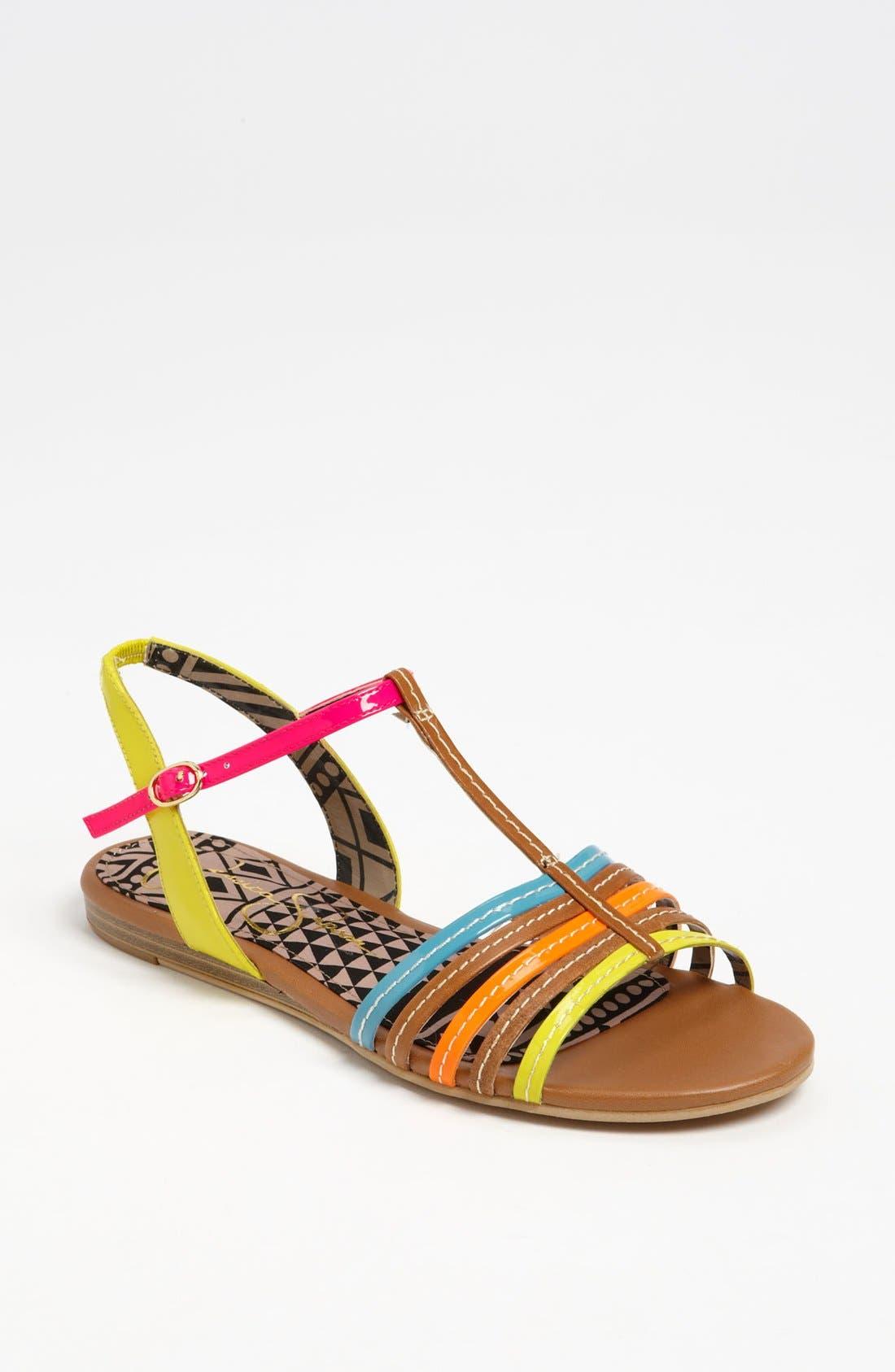 Alternate Image 1 Selected - Jessica Simpson 'Deniece' Sandal