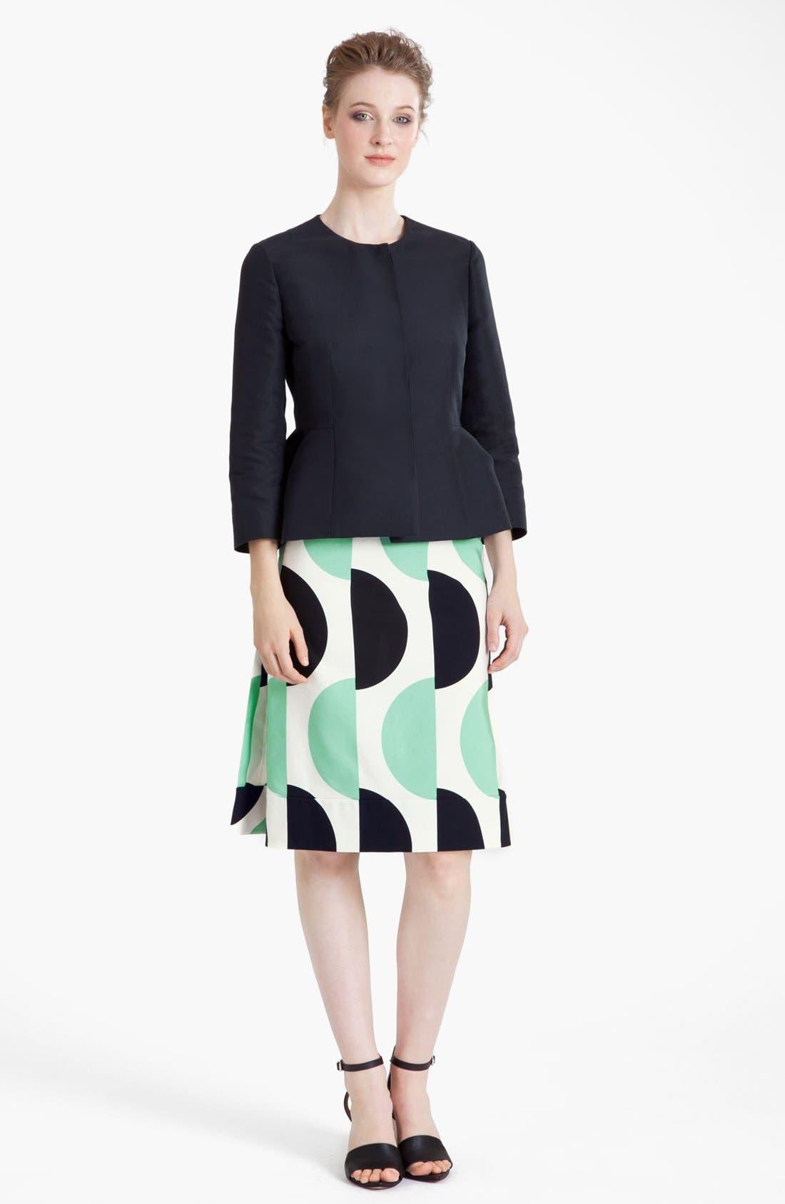 Alternate Image 3  - Marni Large Dot Print Pencil Skirt
