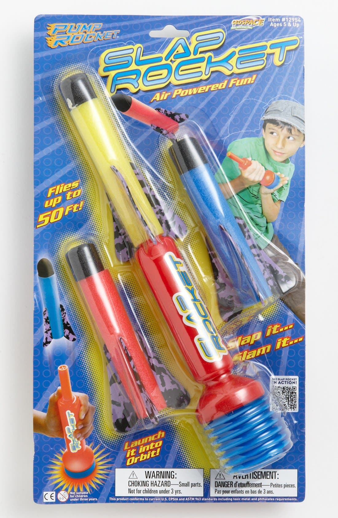 Alternate Image 1 Selected - Geospace International Toys Slap Rocket