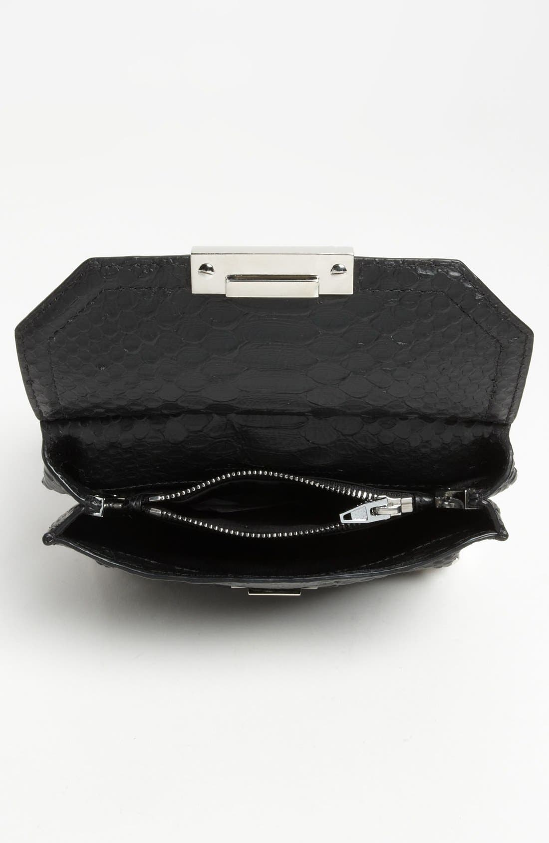 Alternate Image 3  - Alexander Wang 'Marion - Prisma' Python Embossed Leather Crossbody Bag