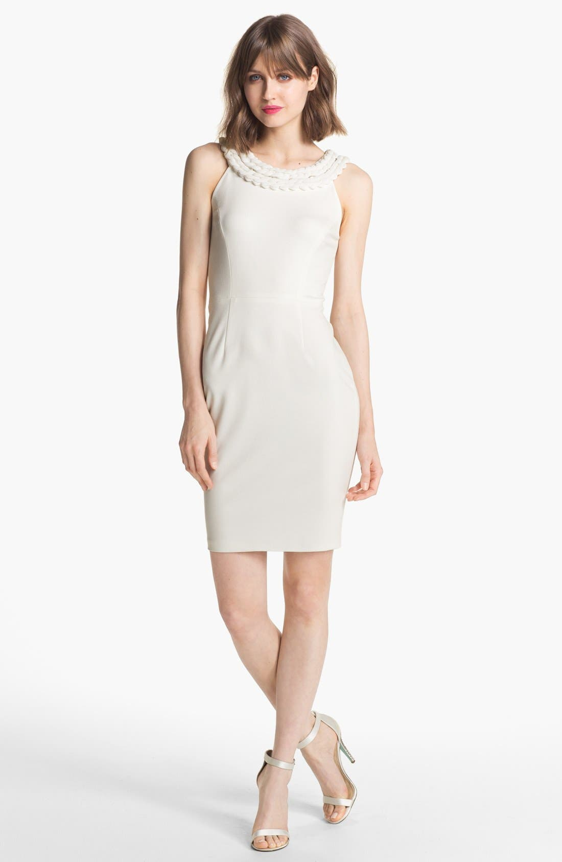 Alternate Image 1  - ERIN erin fetherston Sleeveless Ponte Sheath Dress