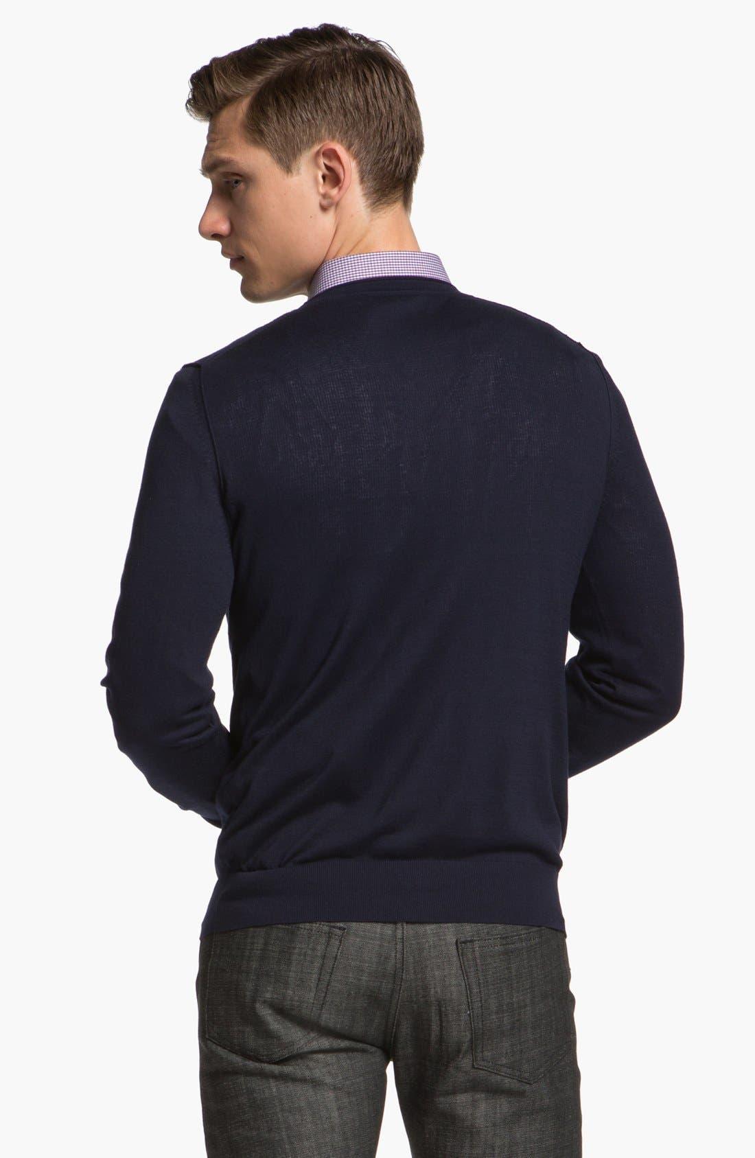 Alternate Image 2  - Z Zegna Silk Blend Sweater