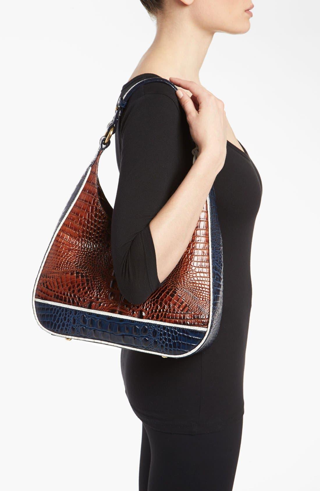 Alternate Image 2  - Brahmin 'Quinn - Tricolor' Shoulder Bag