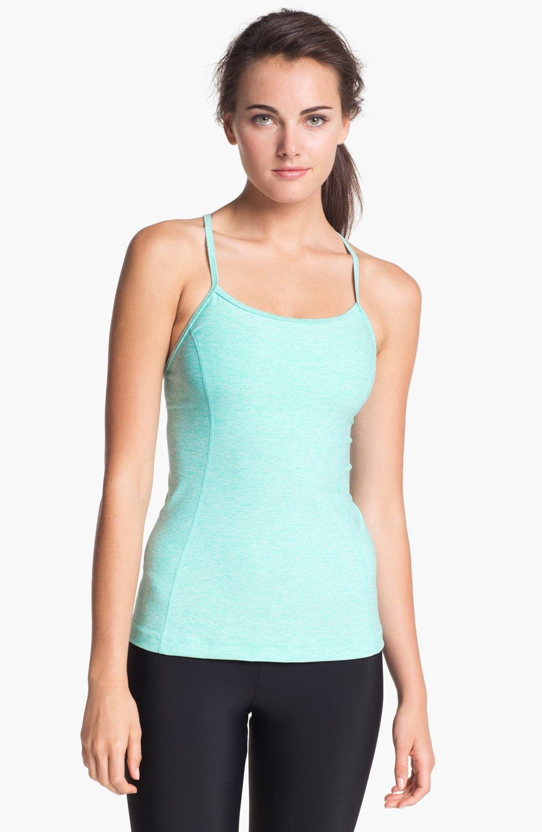 Alternate Image 1 Selected - Under Armour 'StrappyLux' Tank