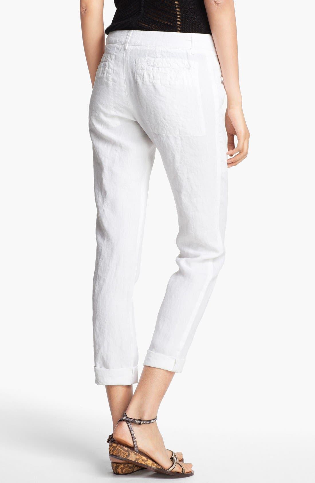 Alternate Image 2  - A.L.C. 'Sandor' Linen Pants