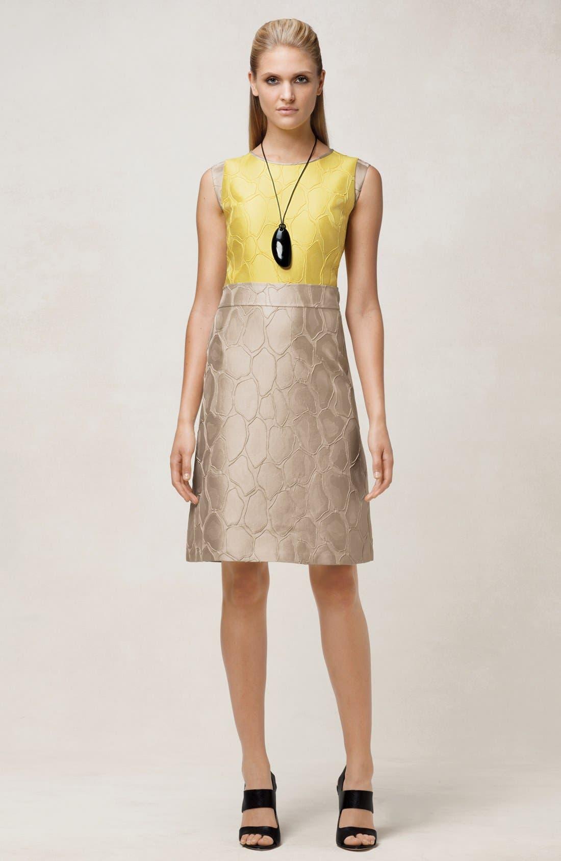 Alternate Image 6  - Lafayette 148 New York 'Elle' Giraffe Jacquard Dress