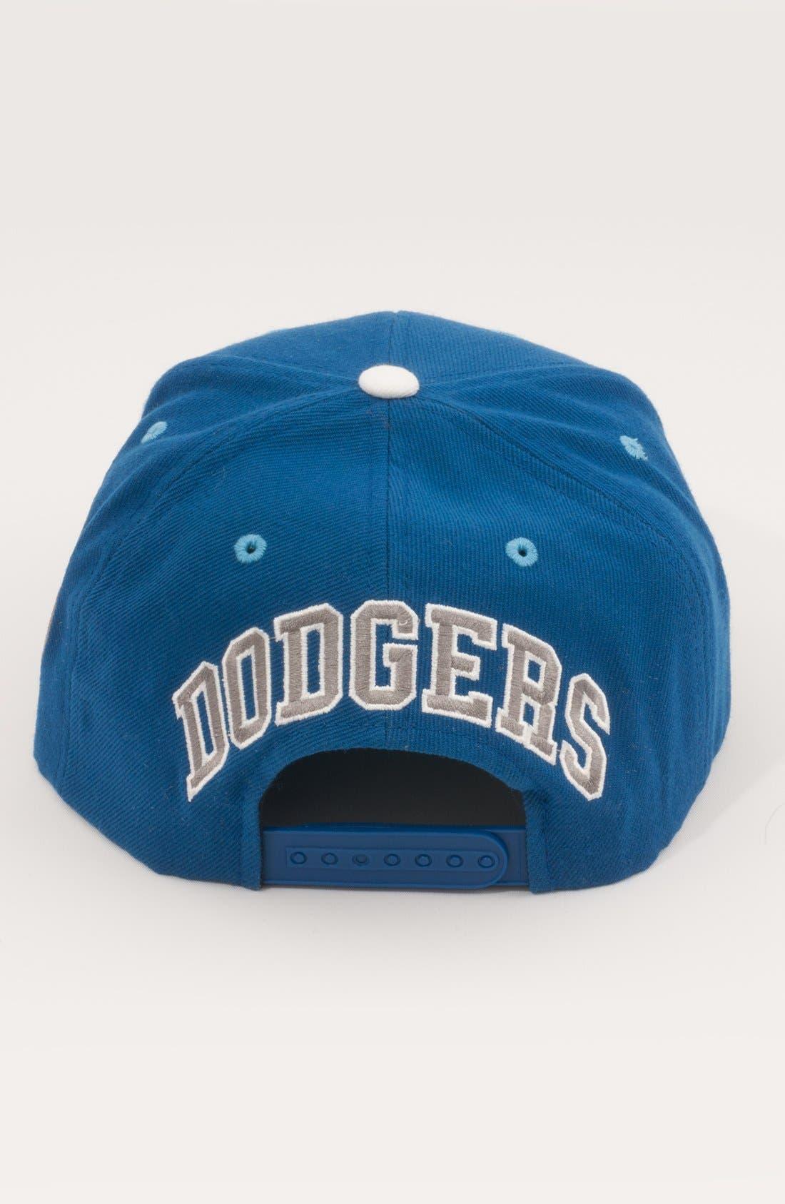 Alternate Image 2  - American Needle 'Brooklyn Dodgers - Blockhead' Snapback Baseball Cap