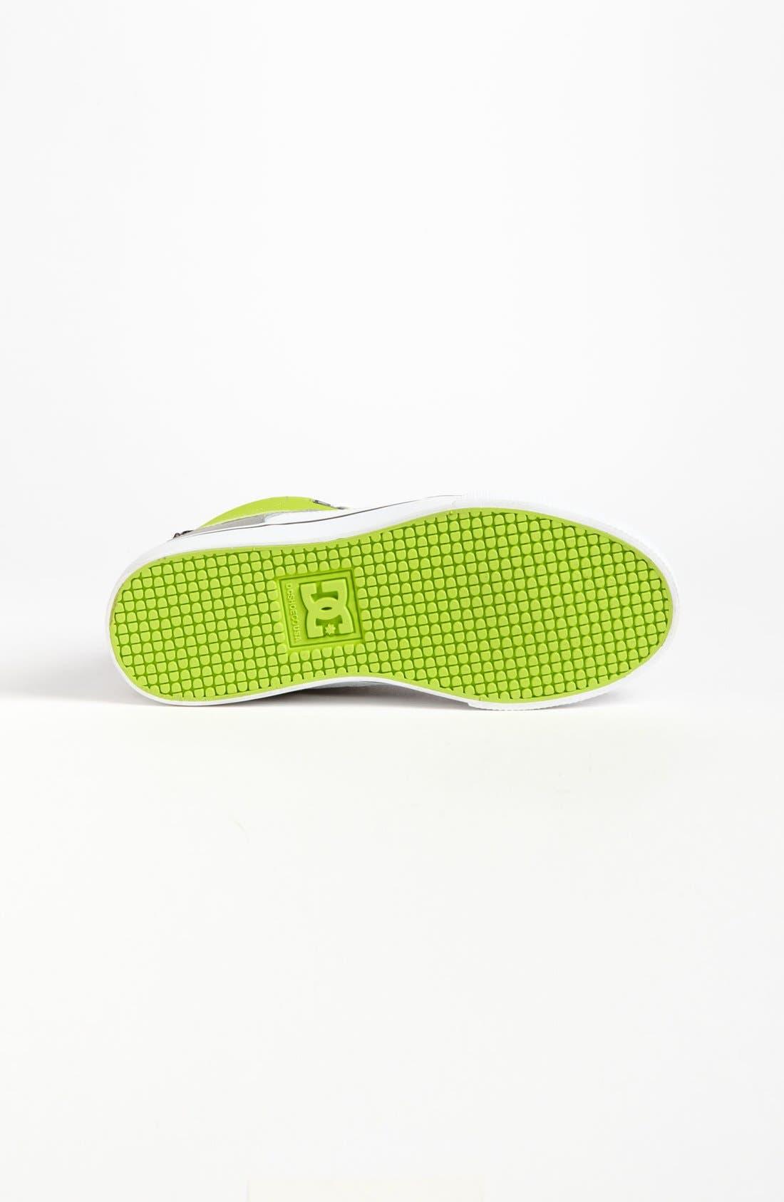 Alternate Image 4  - DC Shoes 'Spartan - Hi' Skate Shoe (Little Kid & Big Kid)