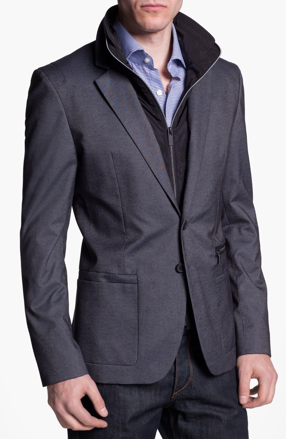 Alternate Image 1 Selected - HUGO 'Alinos' Extra Trim Fit Sportcoat