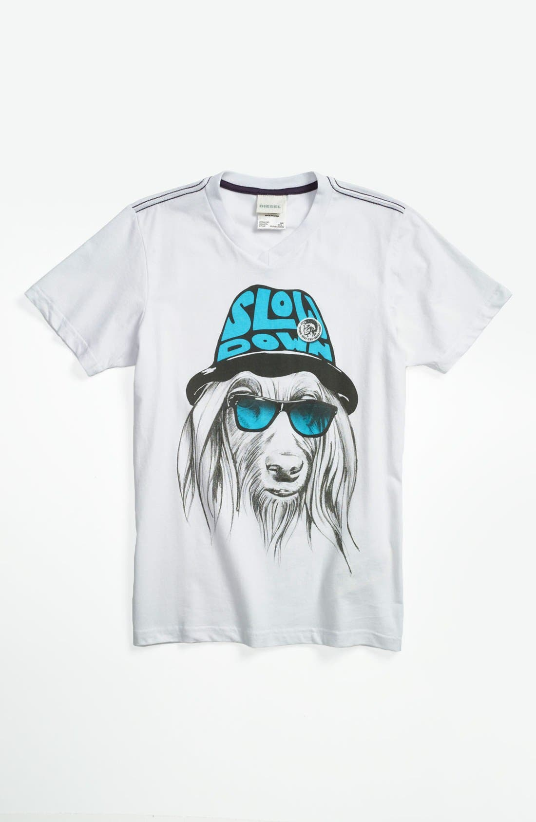 Alternate Image 1 Selected - DIESEL® 'Dog' T-Shirt (Big Boys)