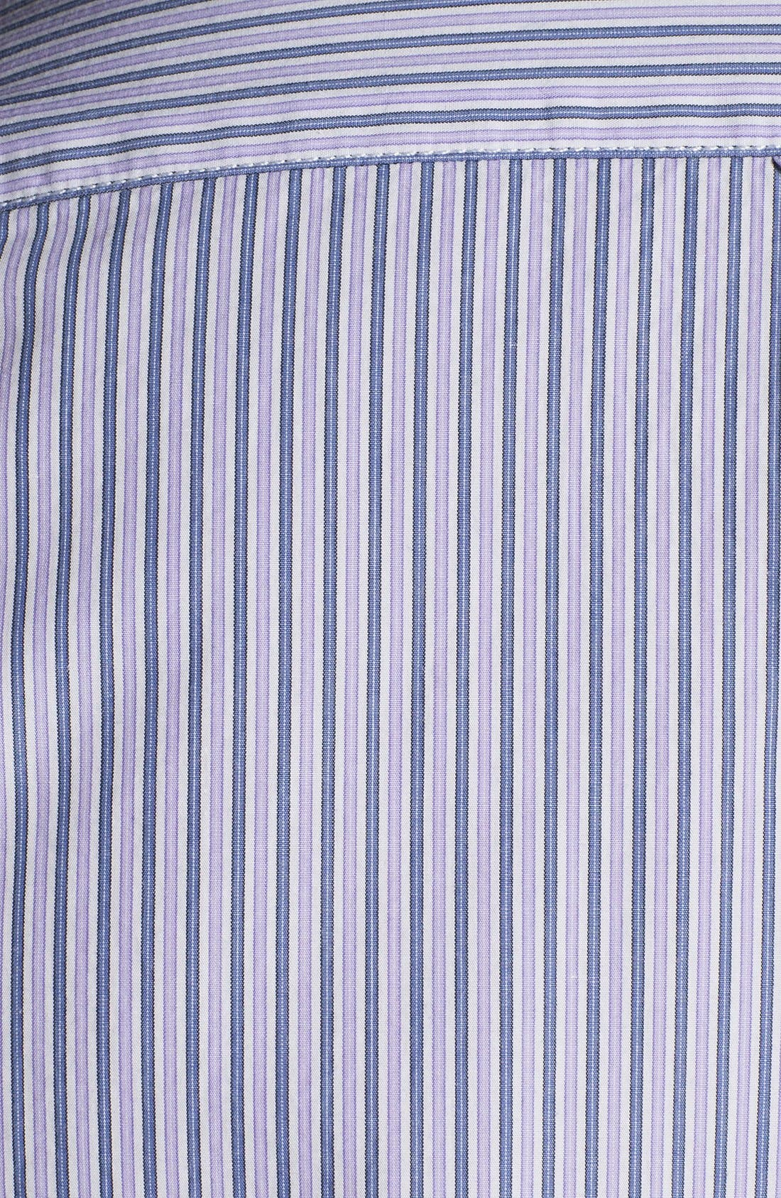 Alternate Image 3  - Façonnable Tailored Denim Sport Shirt
