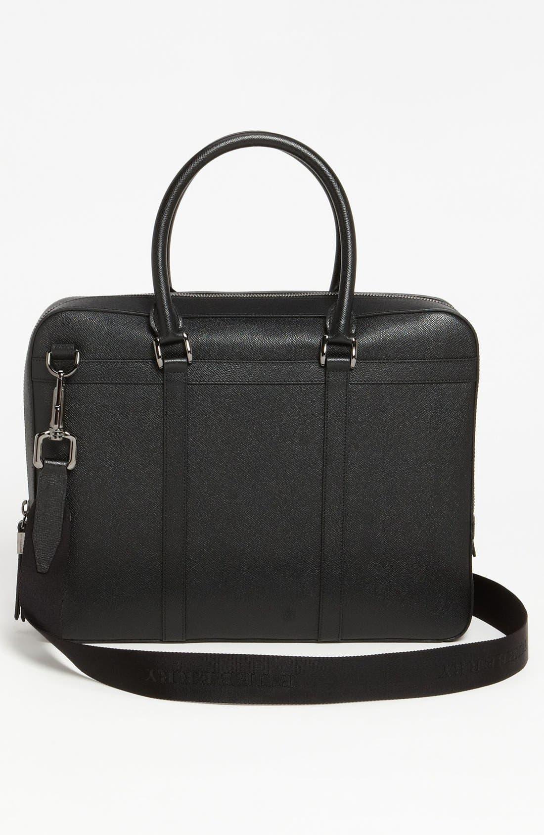 Alternate Image 2  - Burberry 'Ormond' Leather Briefcase