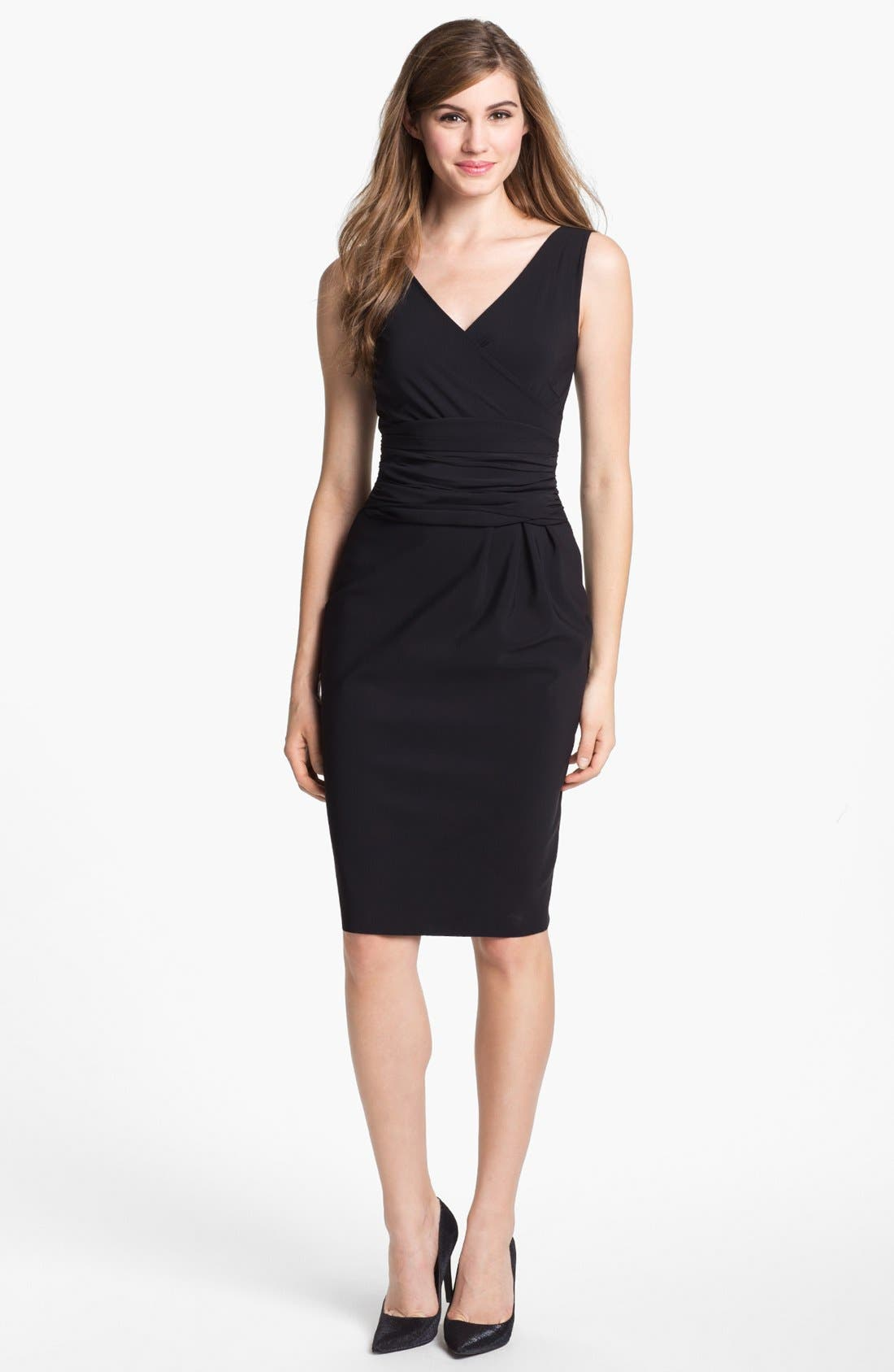 Alternate Image 1  - La Petite Robe by Chiara Boni Sleeveless Sheath Dress