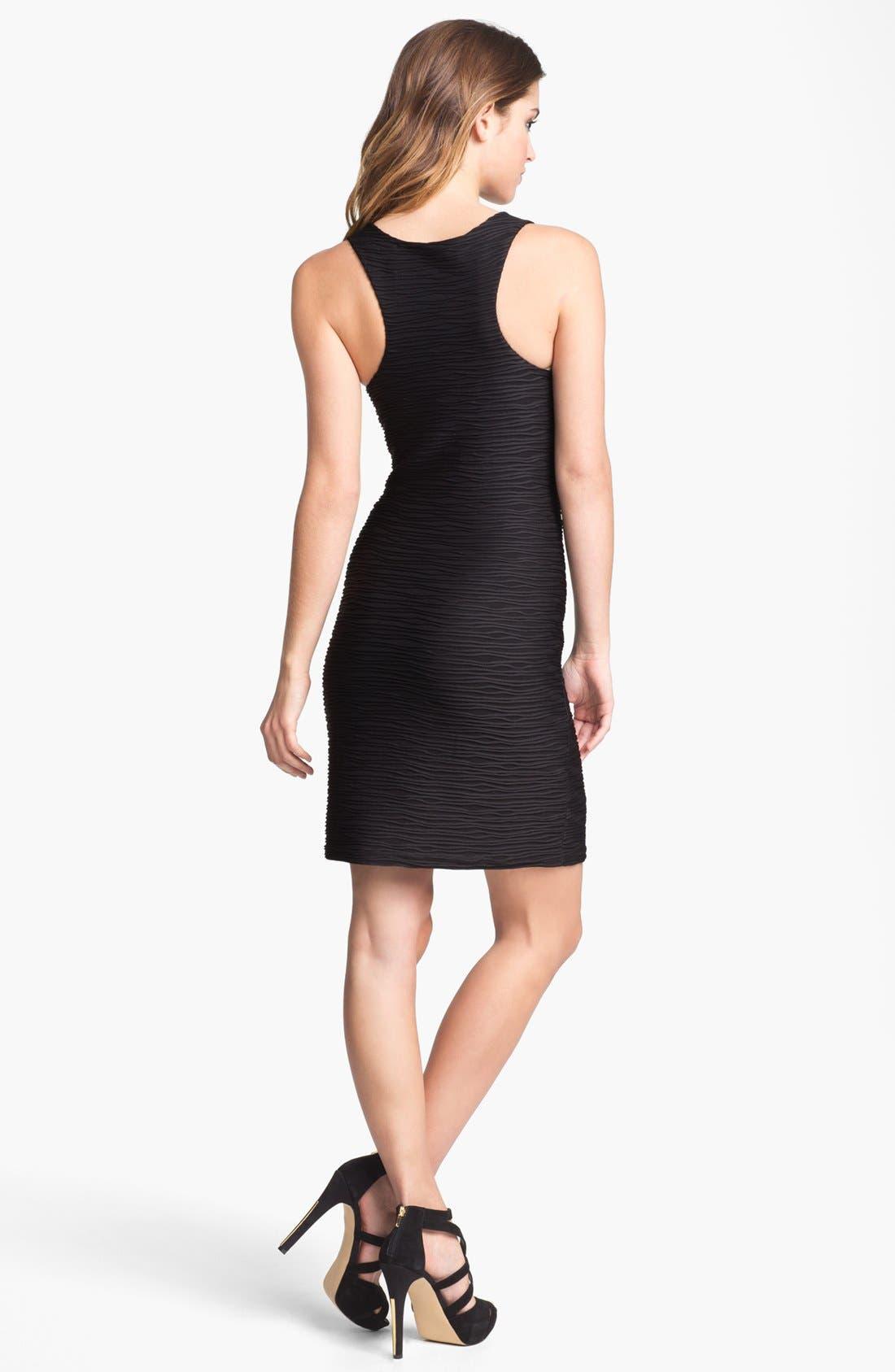 Alternate Image 2  - Abi Ferrin 'Lindsey' Textured Racerback Dress