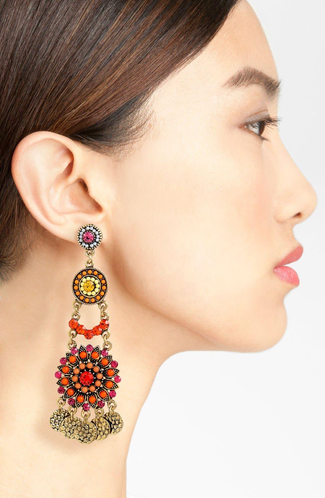 Alternate Image 2  - Cara Chandelier Earrings