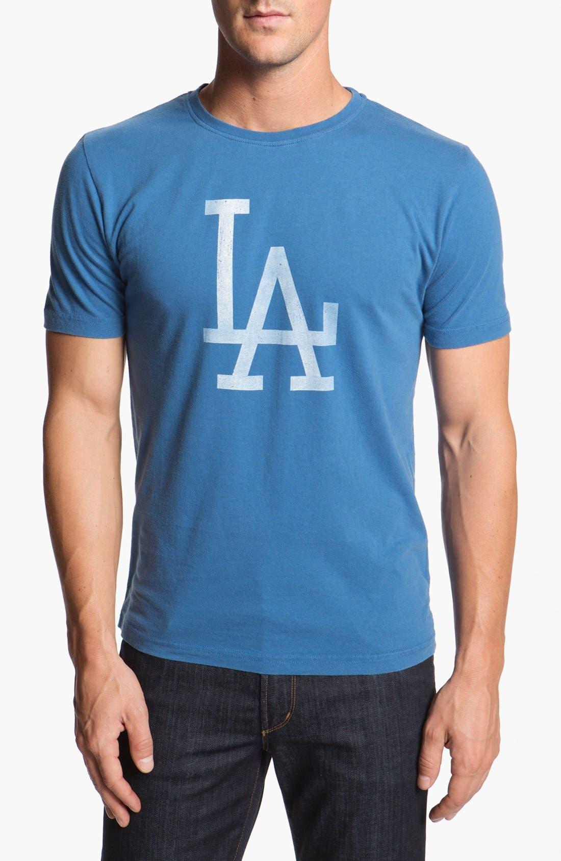 Alternate Image 1 Selected - Red Jacket 'Dodgers - Brass Tack' T-Shirt