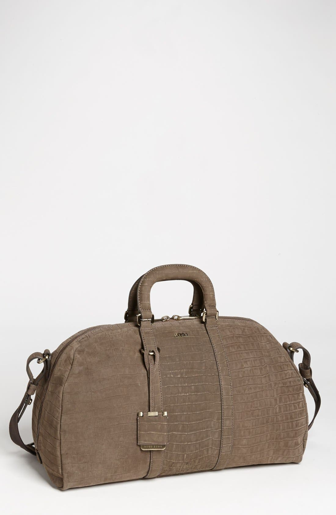Alternate Image 1 Selected - BOSS HUGO BOSS 'Rofert' Duffel Bag