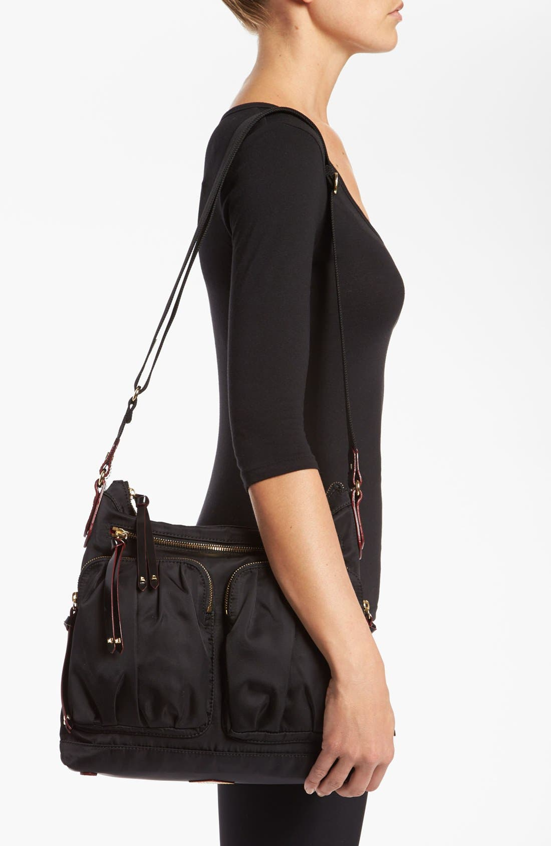 Alternate Image 2  - MZ Wallace 'Mia' Bedford Nylon Crossbody Bag