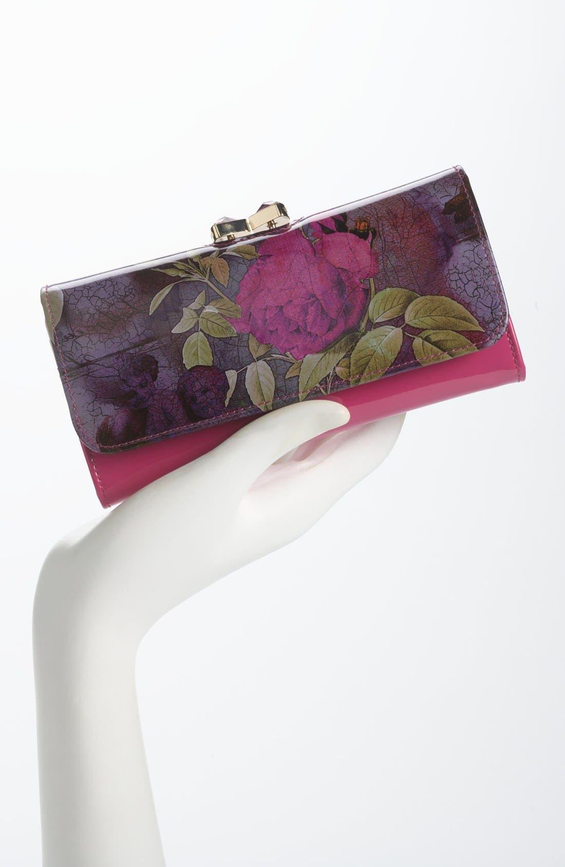Alternate Image 4  - Ted Baker London 'Floral Print' Matinee Wallet
