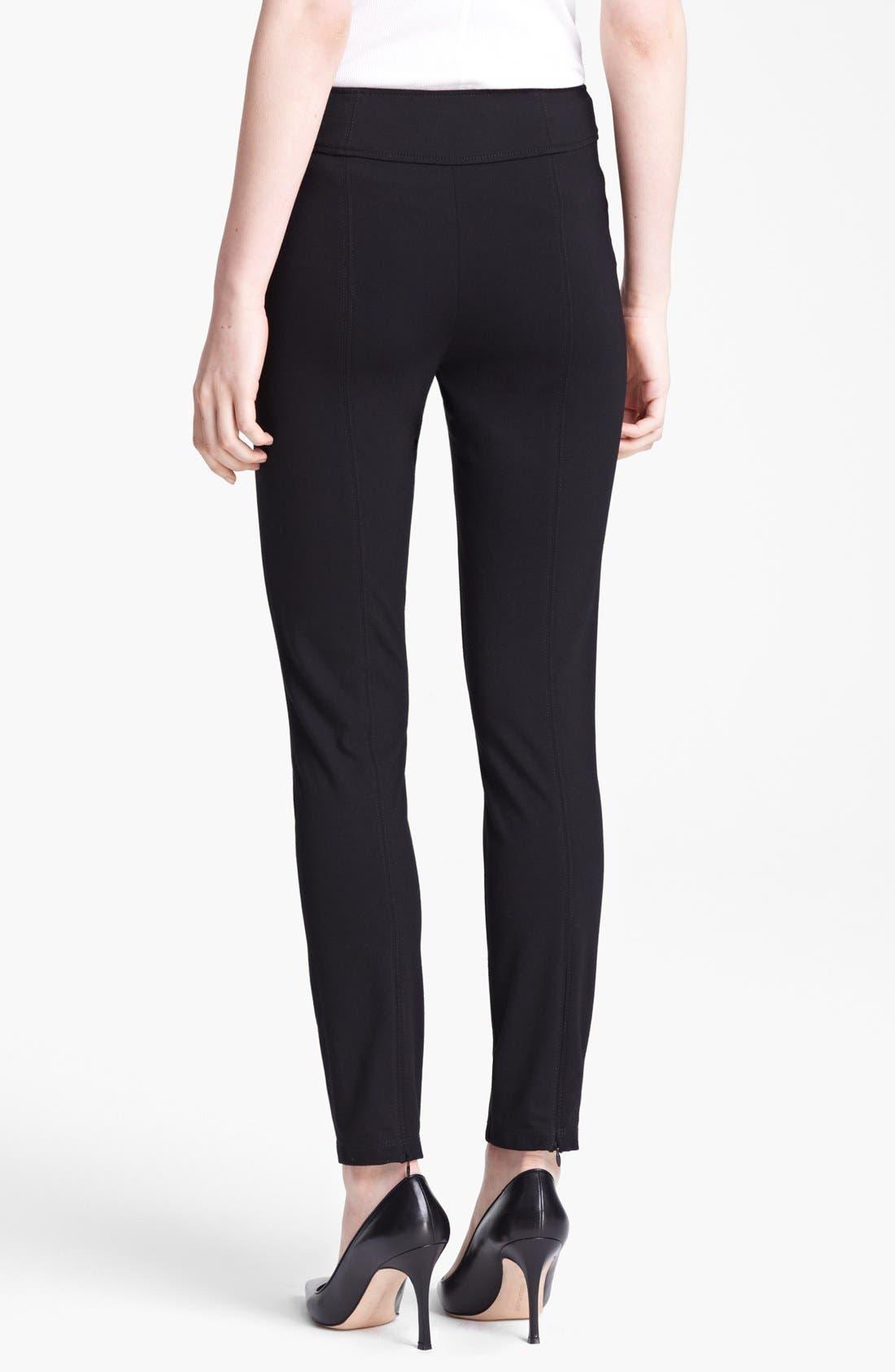 Alternate Image 2  - Moschino Cheap & Chic Side Zip Leggings