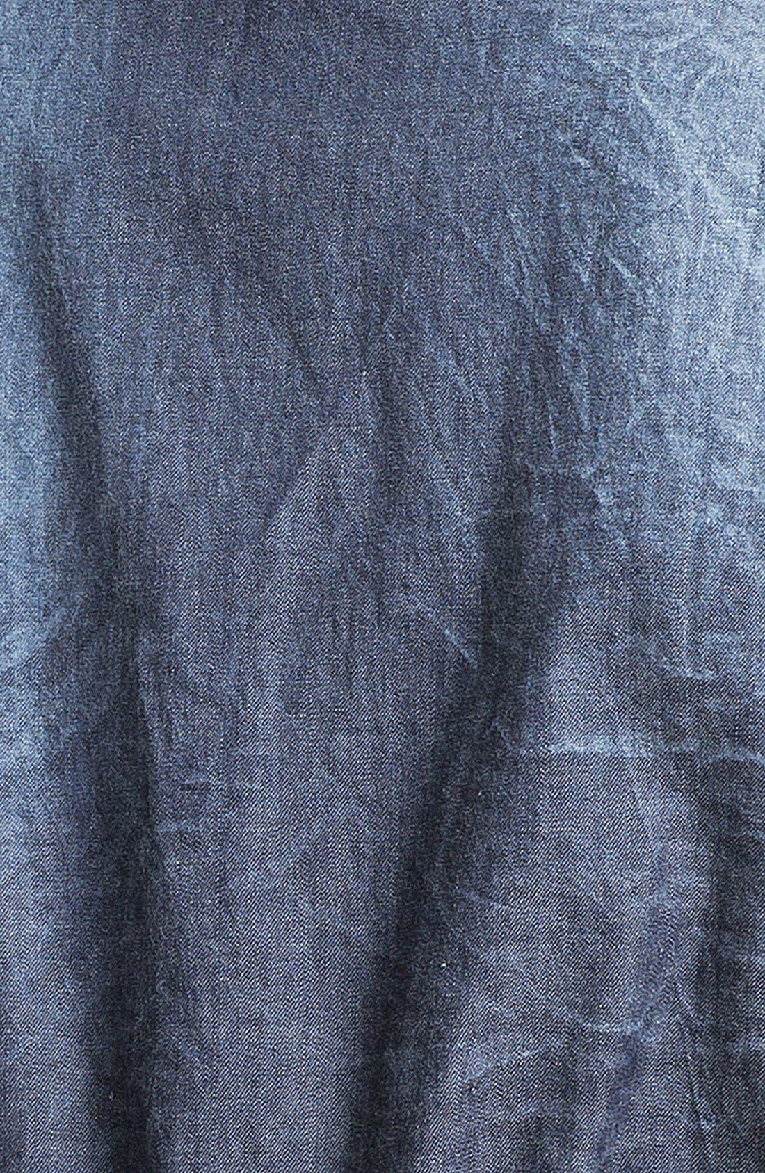 Alternate Image 3  - Fire Ombré Denim Utility Vest (Juniors)