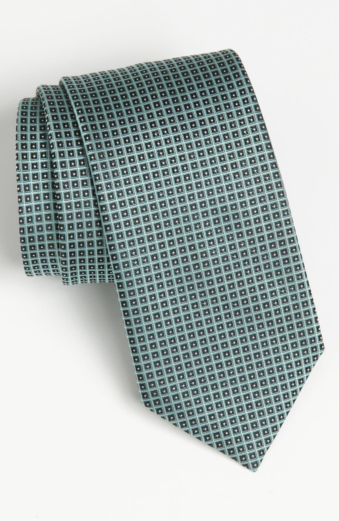 Alternate Image 1 Selected - BOSS Black Woven Silk Tie