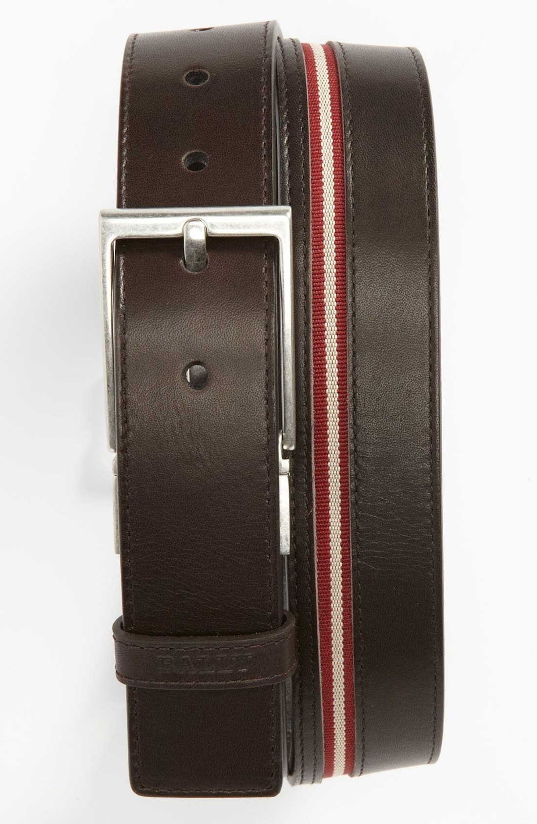 Alternate Image 1 Selected - Bally 'Tamer' Reversible Leather Belt
