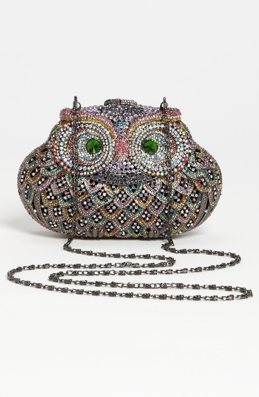 Alternate Image 4  - Natasha Couture Owl Clutch
