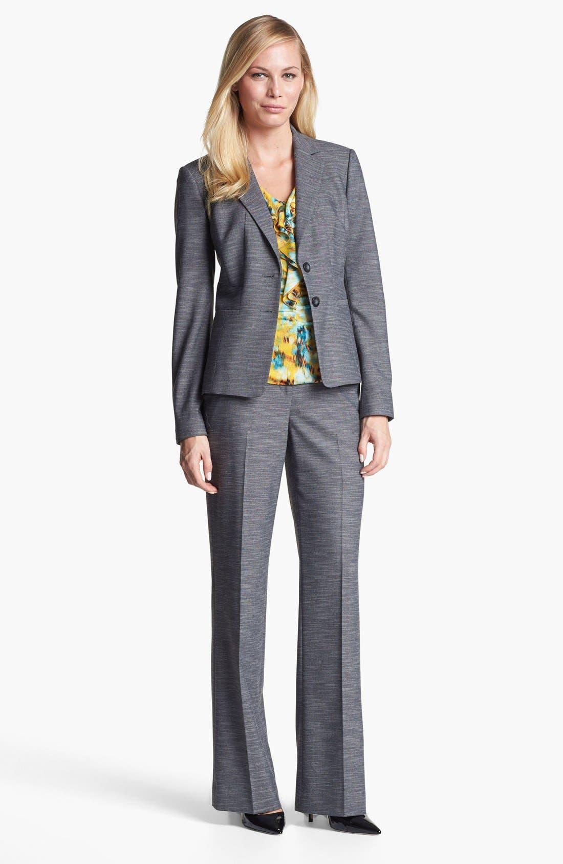 Alternate Image 3  - Classiques Entier® 'Silvia' Mélange Jacket