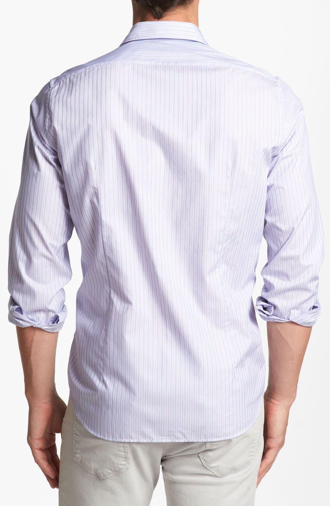 Alternate Image 2  - BOSS HUGO BOSS 'Lucas' Regular Fit Textured Sport Shirt