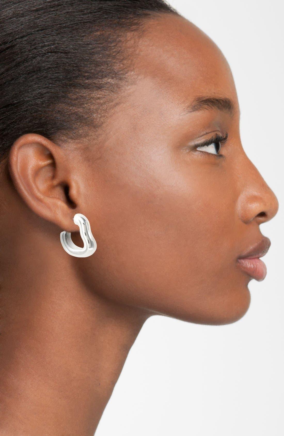 Alternate Image 2  - Simon Sebbag 'Contemporary' Small Smooth Hoop Earrings