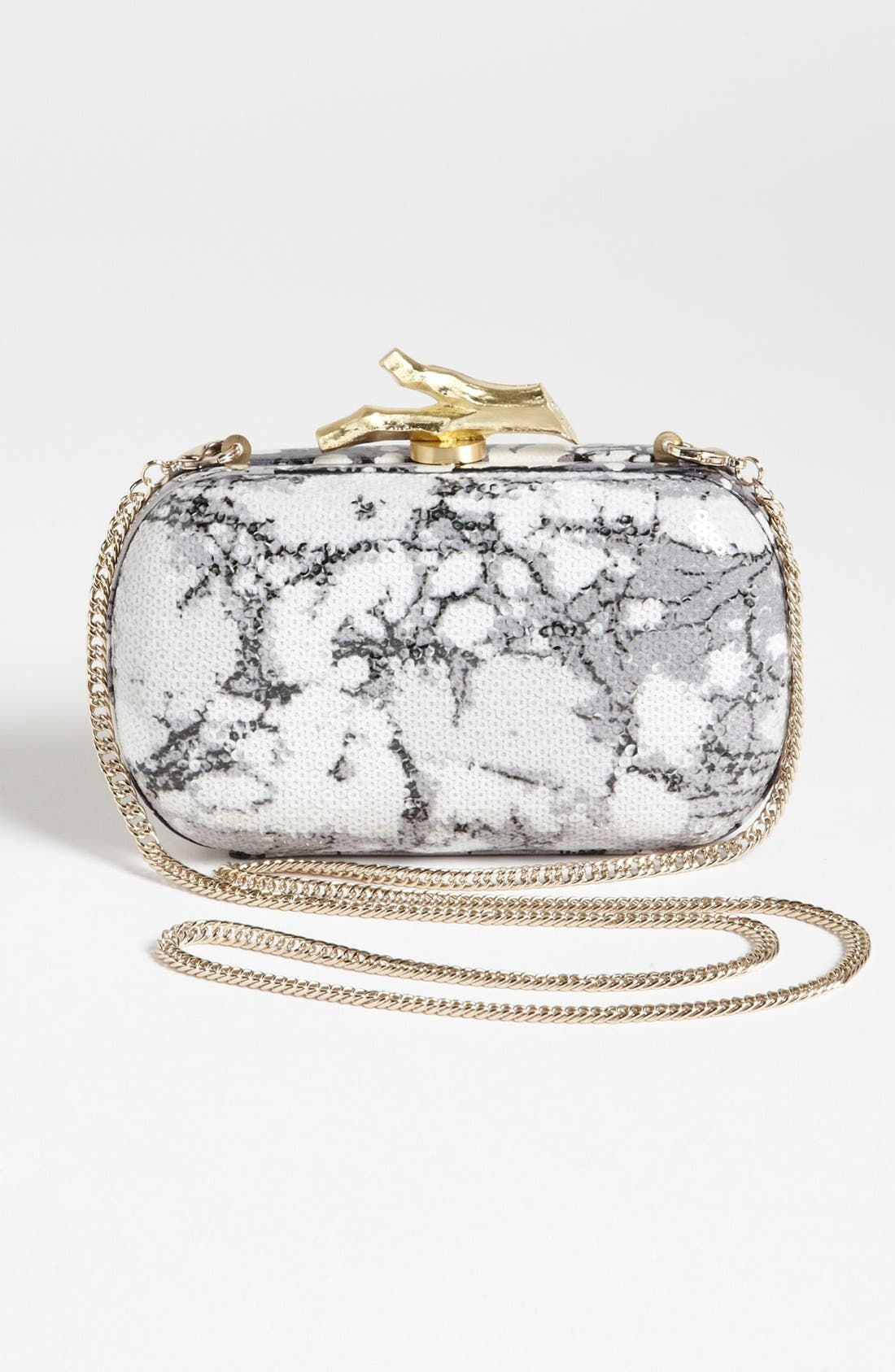 Alternate Image 4  - Diane von Furstenberg 'Lytton' Sequin Clutch
