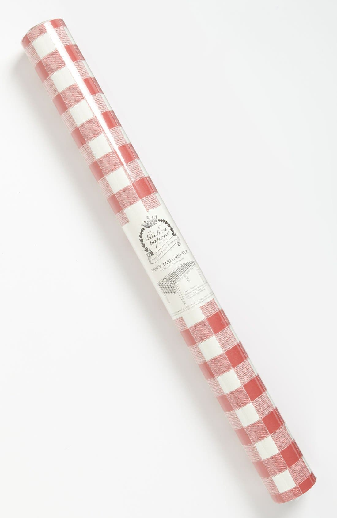 Alternate Image 2  - Kitchen Papers by Cake 'Italian Checked' Paper Table Runner