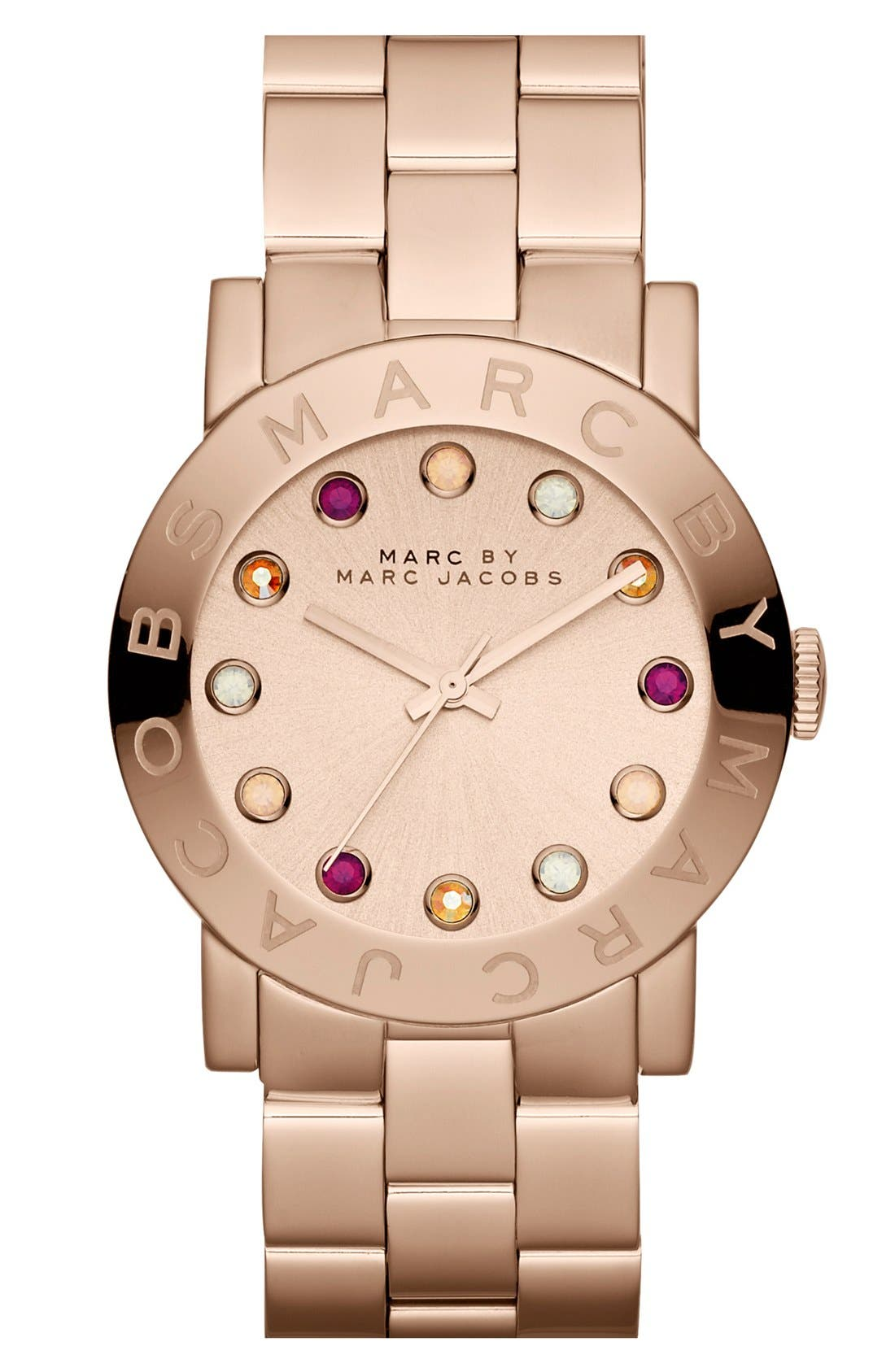 Main Image - MARC JACOBS 'Amy' Bracelet Watch, 37mm