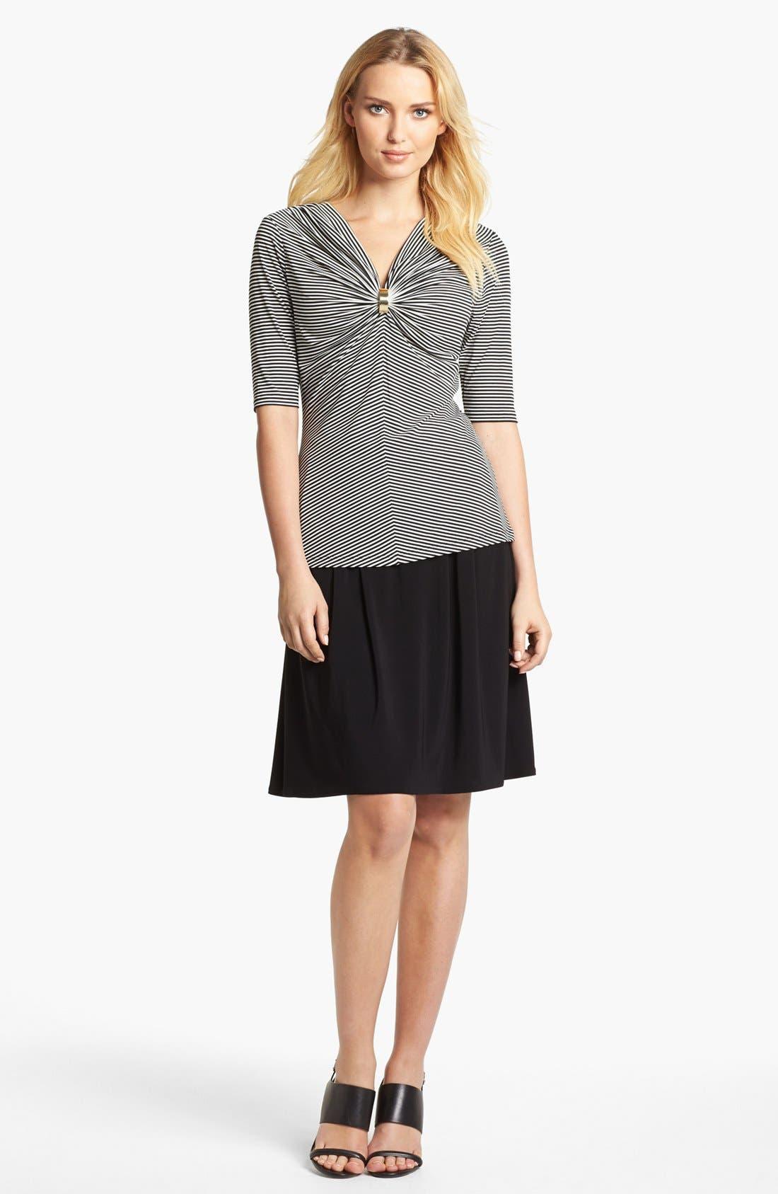 Alternate Image 4  - Chaus Ruched Waist Skirt