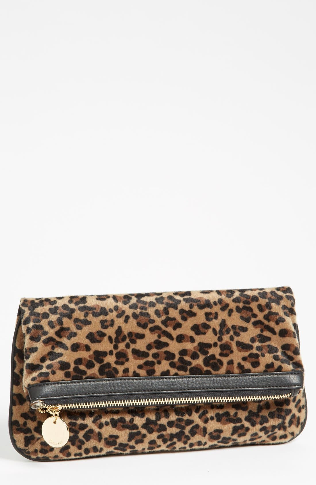 Main Image - Deux Lux Faux Fur Clutch