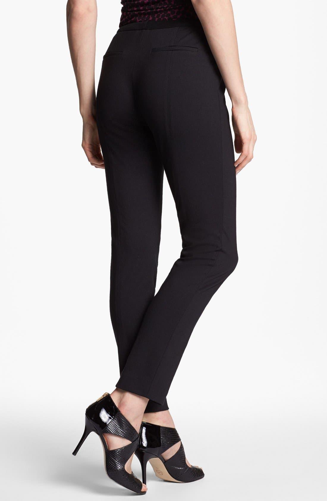 Alternate Image 2  - Halogen® Ponte Ankle Pants