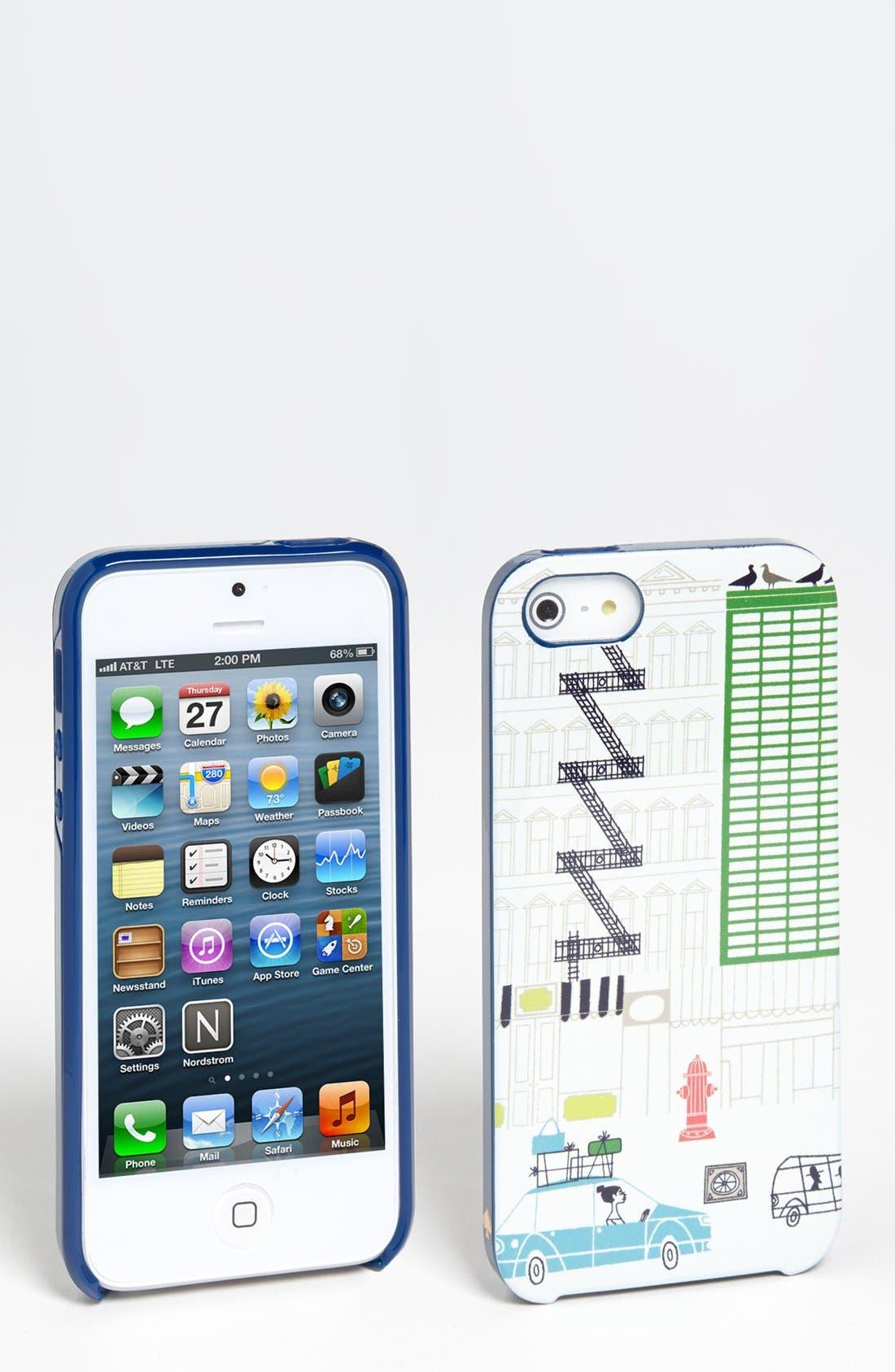 Alternate Image 1 Selected - kate spade new york 'spadeville' iPhone 5 & 5S case