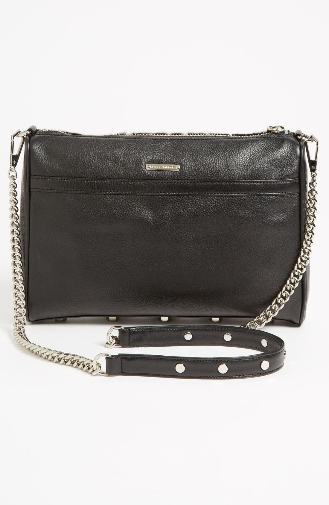 Alternate Image 4  - Rebecca Minkoff 'MAC Clutch' Calf Hair Crossbody Bag, Small