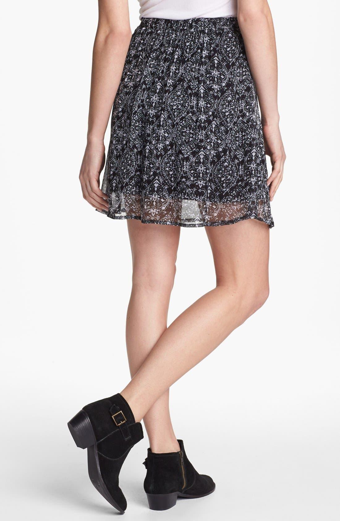 Alternate Image 2  - Ella Moss 'Cisco' Print Skirt